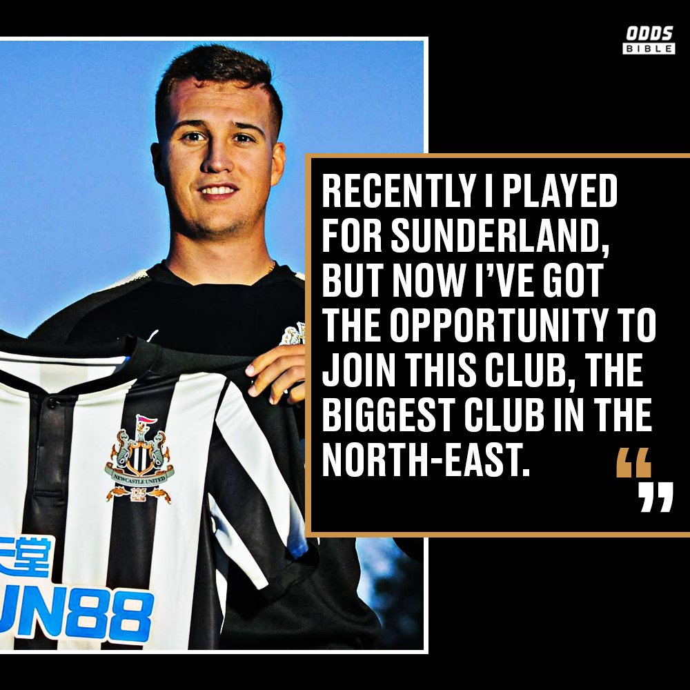 Javier Manquillo in his first @NUFC interview. He knows how to please the Geordies. #nufc