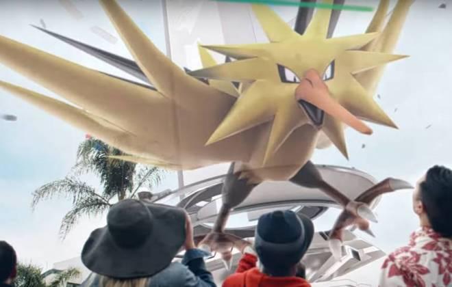 Um ano após ser lançado, 'Pokémon Go' recebe as primeiras criaturas lendárias: https://t.co/G0yHDge45r