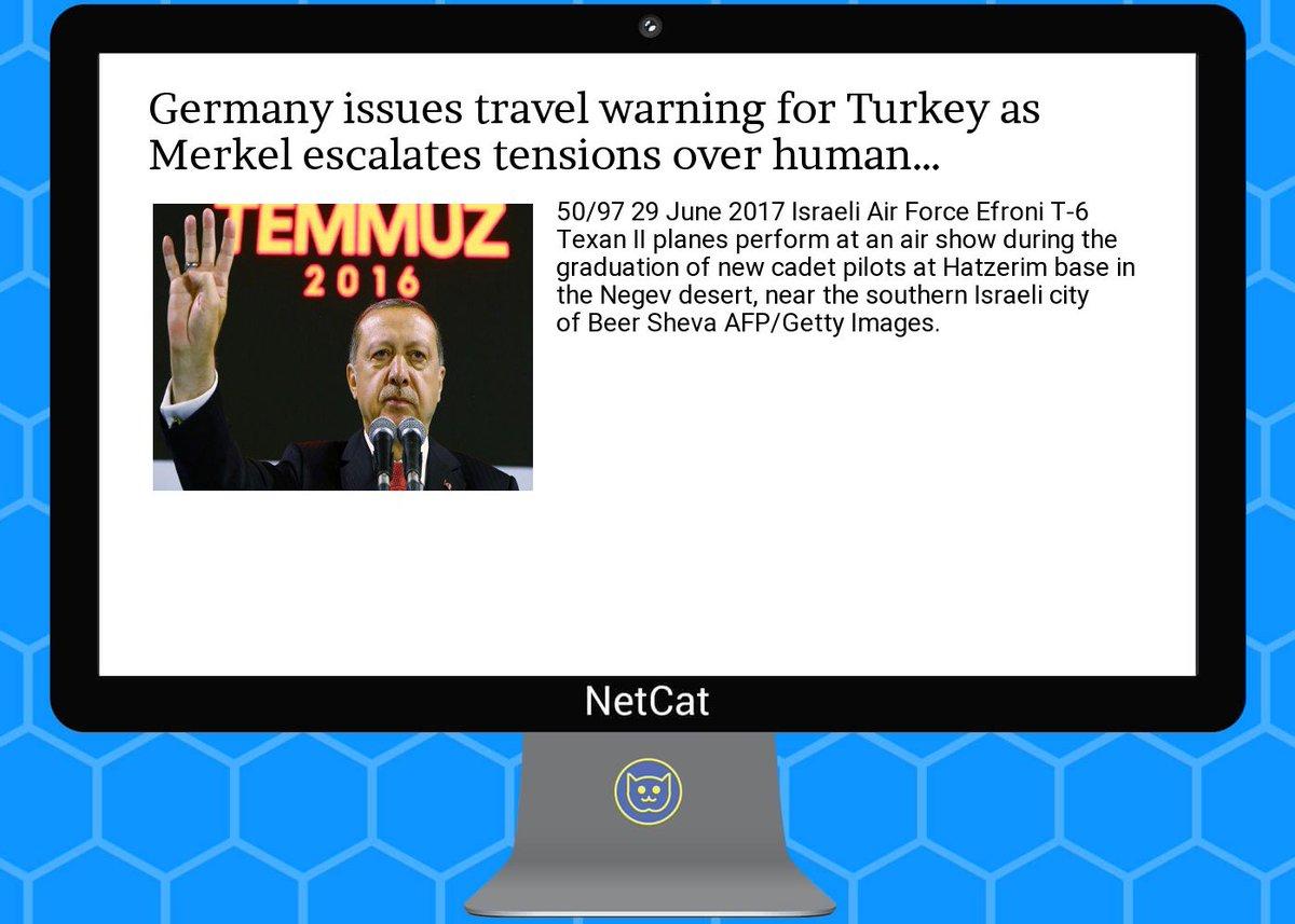 #republic #world App -  https:// goo.gl/Nv8w2F  &nbsp;    #ger #many issues  #travel  #warning for  #turkey as  #merkel escal<br>http://pic.twitter.com/U5I8sFecAh