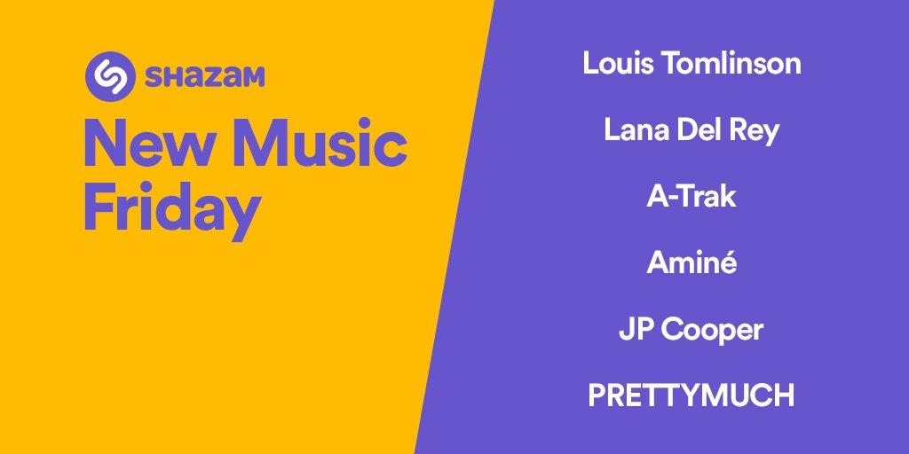 Enjoy our #NewMusicFriday playlist ft. @Louis_Tomlinson, @LanaDelRey, @atrak, @JPCooperMusic, @PRETTYMUCH &amp; more --&gt;  http:// apple.co/2gQNKn3  &nbsp;  <br>http://pic.twitter.com/jjD13AfJgV
