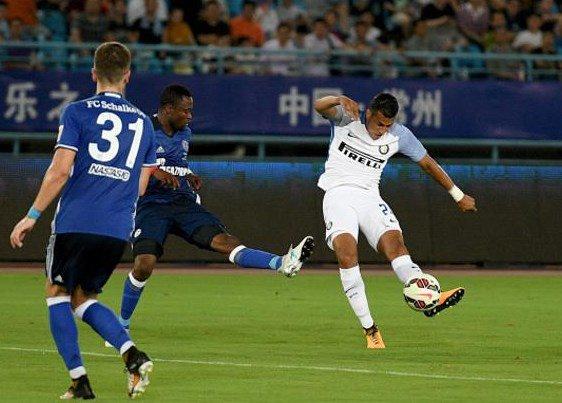 Inter-Schalke 1-1: euro gol del colombiano Murillo | Summer Tour 2017