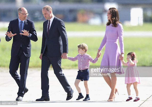 Our first look at George and Charlotte a...