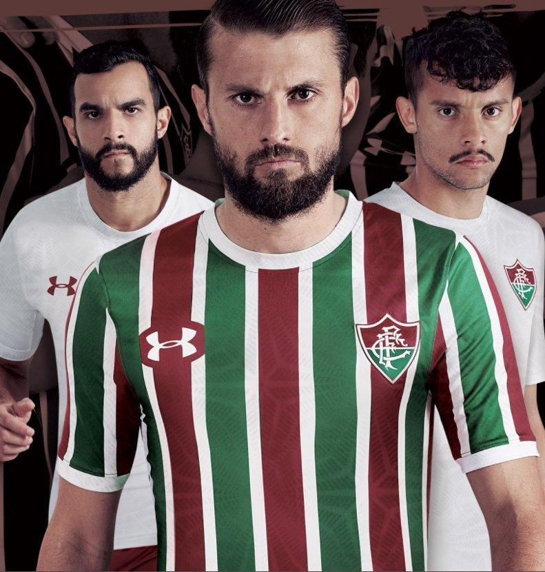 Qual camisa, lançada hoje, ficou mais bonita?  RT = Fluminense Curtir = Flamengo  #NossoFutebol