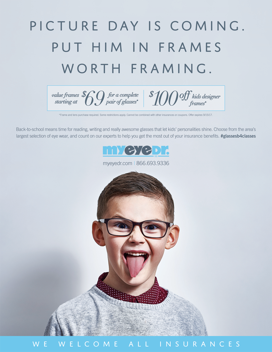 NOW&#39;s the time to schedule #BackToSchool #eyeExams at any of our 28 @MyEyeDr Chicagoland locations!!! #GlassesB4Classes #ChildrensEyeExam<br>http://pic.twitter.com/LYc7DTE2pt