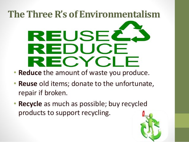 Environmentalist and its 3 R&#39;s! #reuse #reduse #recycle #optoutside #eco #renewables<br>http://pic.twitter.com/NcnvfYVpz2