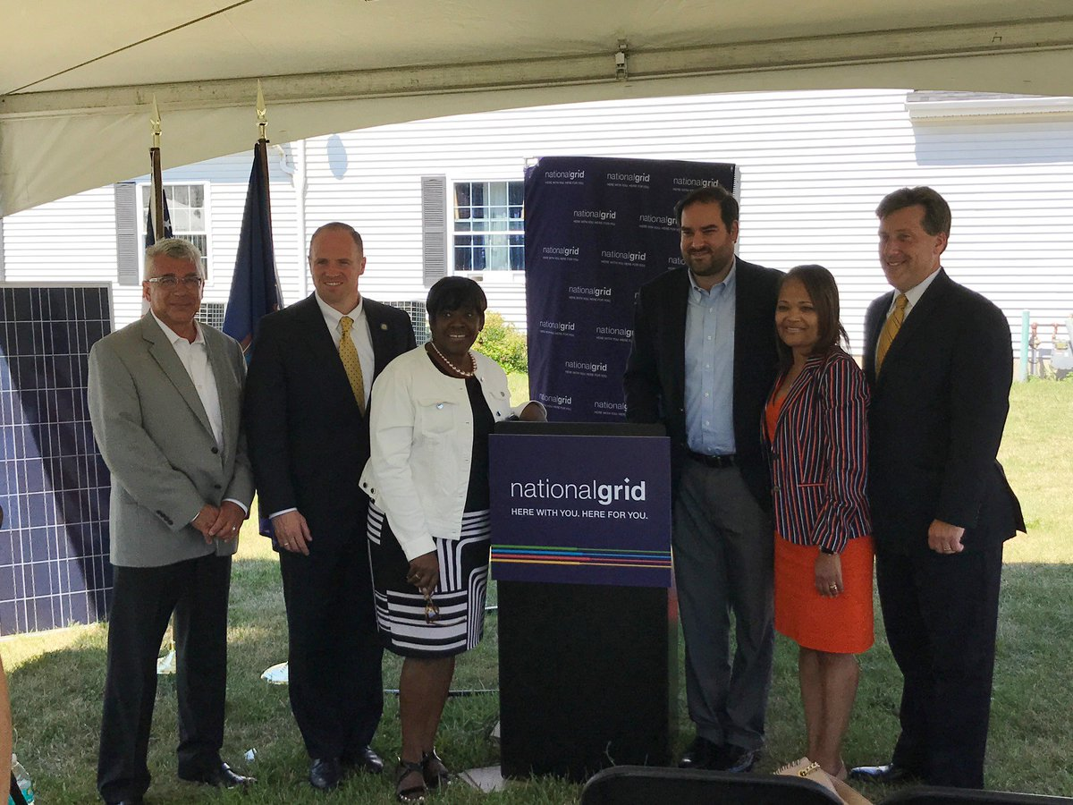 Very gratifying to have been a contributor to this outstanding initiative.  Many thanks to National Grid for thinking creatively...