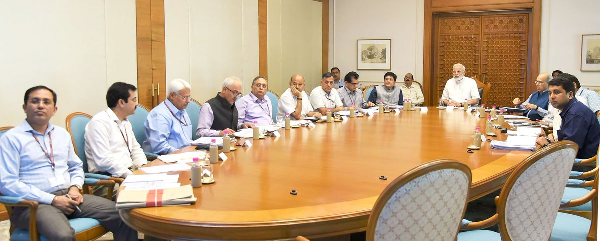 PM reviews progress of UDAY, mineral block auctions