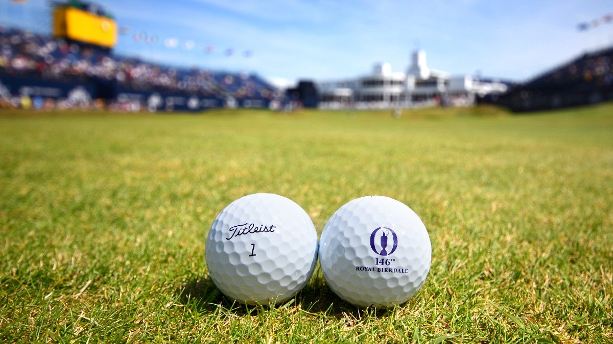 Titleist. The #1 ball played at the #TheOpen since records have been kept. Follow & RT to win. https://t.co/AUVQMEwVh8