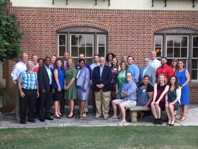 Today this great group of #fundraising professionals heads home. A terrific week for @LaGrangeCollege #philanthropy and #development group.<br>http://pic.twitter.com/eFDJEvDwuk