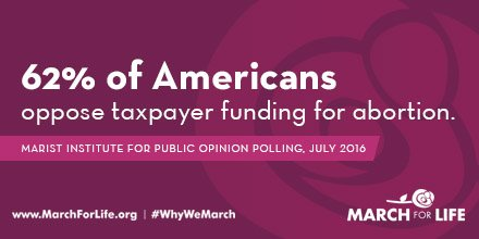 The majority of Americans do not support forced taxpayer funding of #abortion. https://t.co/OIcHCgTsVv #prolife #defundpp #healthcarebill https://t.co/fVLEwms2EP