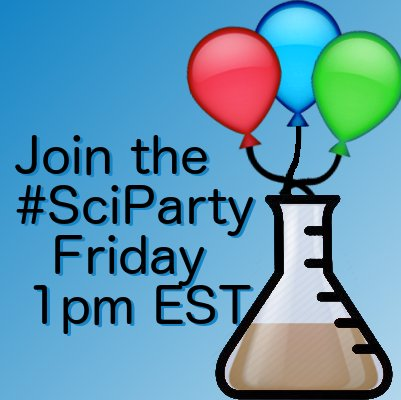 Hey, Ben Kuebrich, @Neuroamer, here taking over the @sciparty account. Follow @sciparty to follow the convo at 1pm EST &amp; use #sciparty in qs <br>http://pic.twitter.com/DZ8xKHuZwx