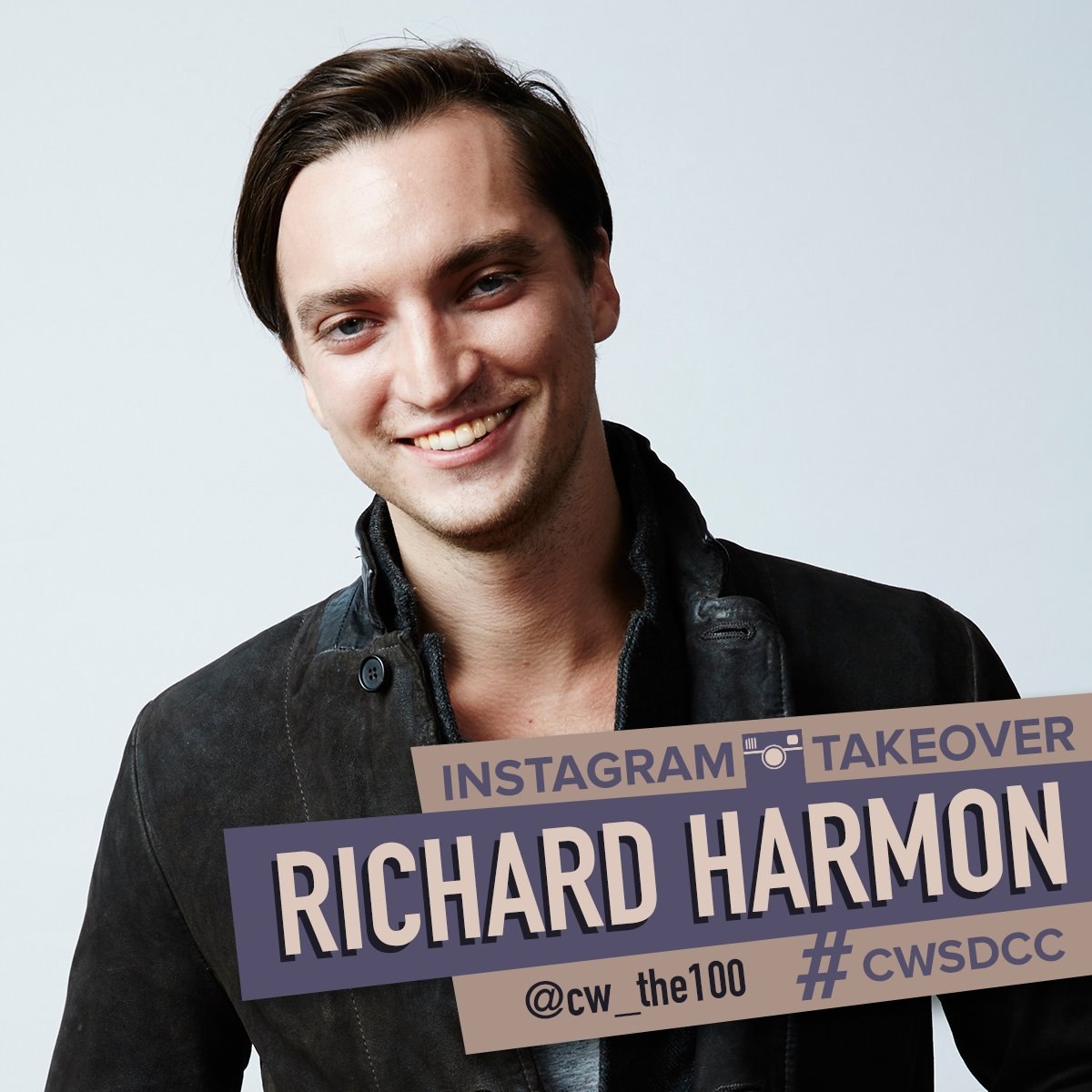 Experience #CWSDCC with @RichardSHarmon as he takes over #The100 Instagram account: https://t.co/Lkrqq17jo9 https://t.co/7YBVXwwjOL