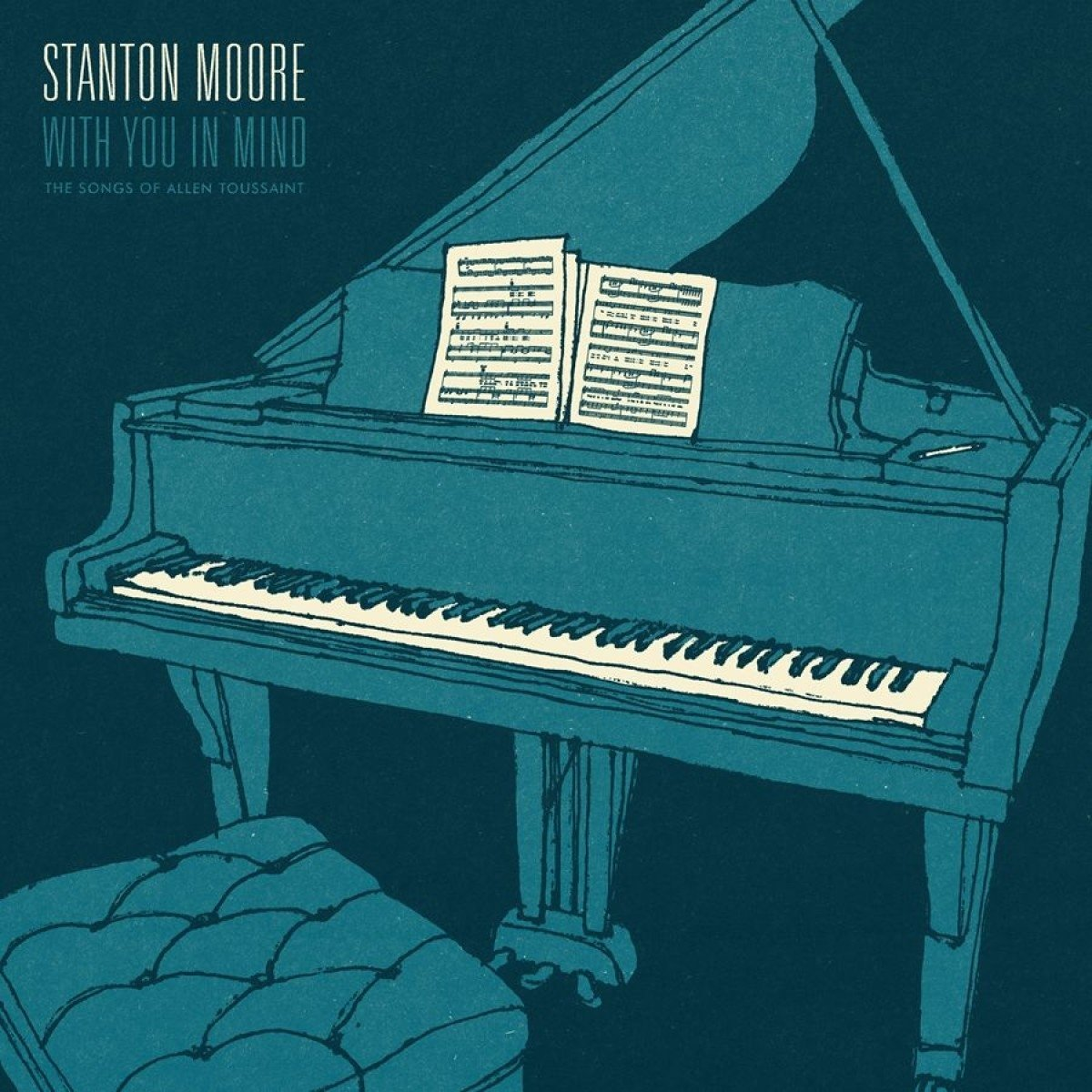 #StantonMoore&#39;s funky #AllenToussaint tribute album #WithYouInMind is out today. Read our review:  http://www. slantmagazine.com/music/review/s tanton-moore-with-you-in-mind &nbsp; …  #NewMusicFriday<br>http://pic.twitter.com/8McjEuVtjh
