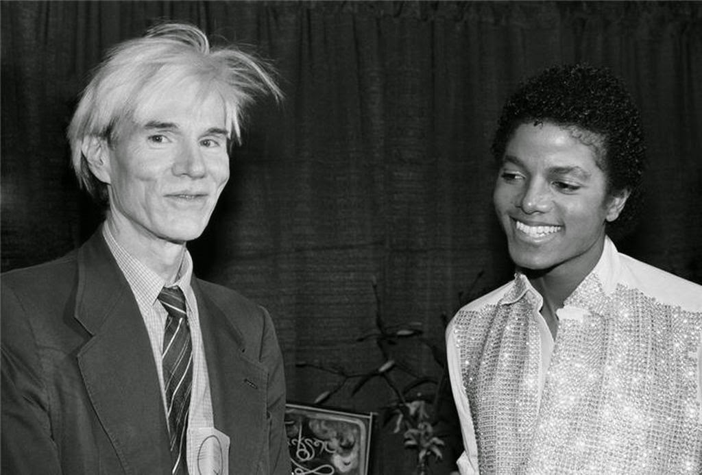 #FriendlyFriday: Michael Jackson and Andy Warhol. What do you think they talked about?
