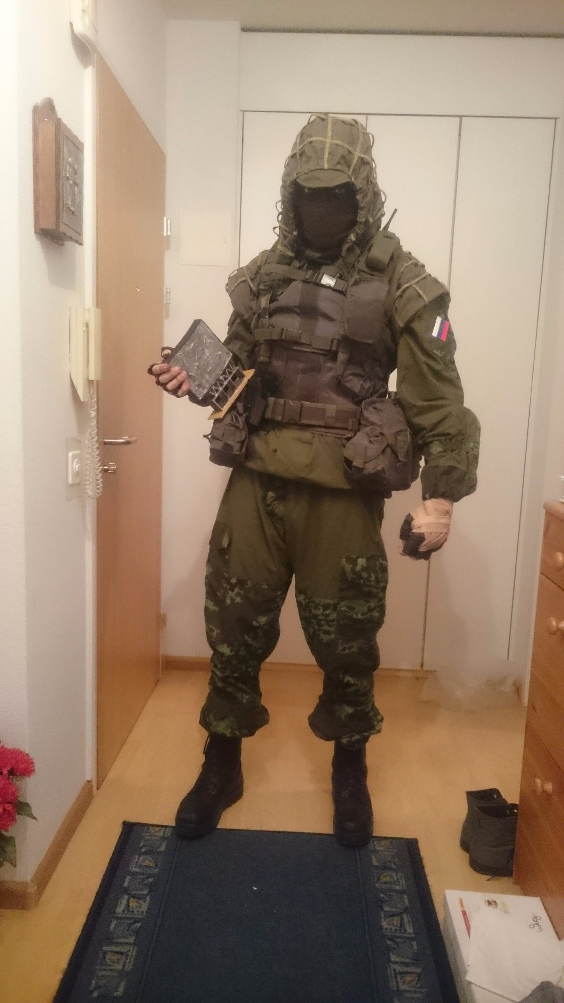 Call of duty ghost cosplay