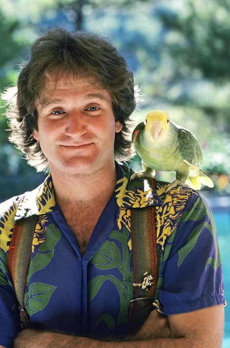 Happy birthday Robin Williams you wonderful human being You are truly missed.