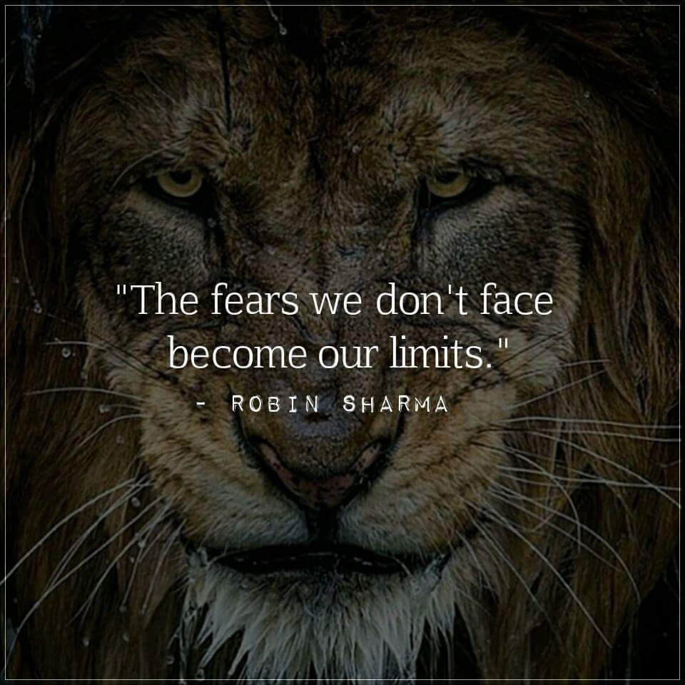 &quot;The fears we don&#39;t face become our limits.&quot; #makeyourownlane #spdc #defstar5 #Mpgvip #IQRTG #SuccessTRAIN #startups  #Entrepreneurs <br>http://pic.twitter.com/7NRfFg8WoF