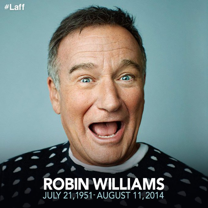 Wishing a happy birthday to the late Robin Williams! May he rest in laughter  .