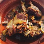 This might be the best lamb I've ever had, its the style they might cook in the public hammam.