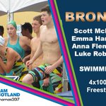 Swimming: BRONZE! @MclayScott claims a FOURTH Bahamas 2017 me...