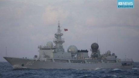 Chinese spy ship turns up off Queensland coast monitoring war games https://t.co/gqBawqhvjq @abcnews #auspol