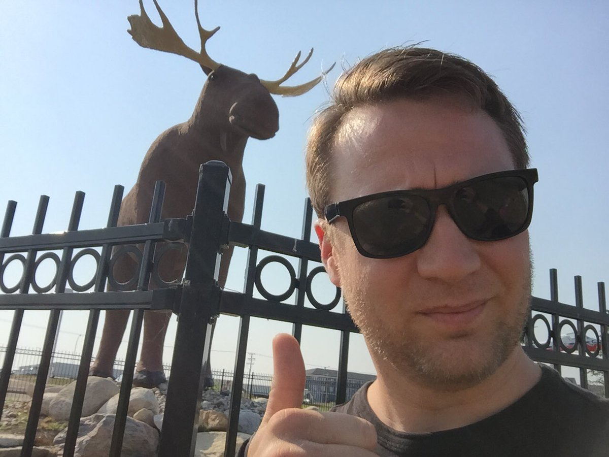 Upset to learn Moose Jae's Mac The Moose overtaken as world's largest by dastardly Norwegians.