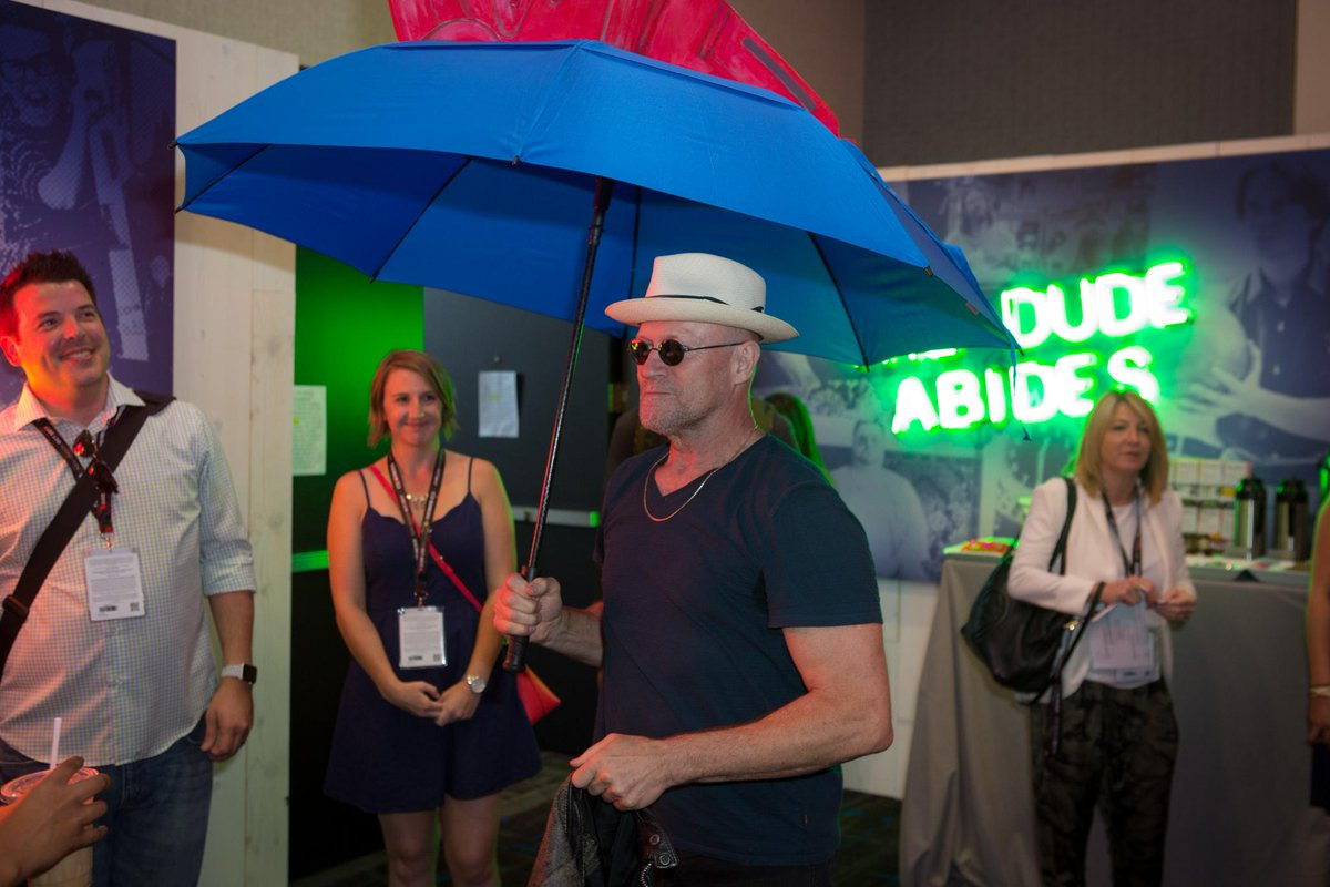 Michael Rooker is Mary Poppins, ya\'ll! #SDCC2017