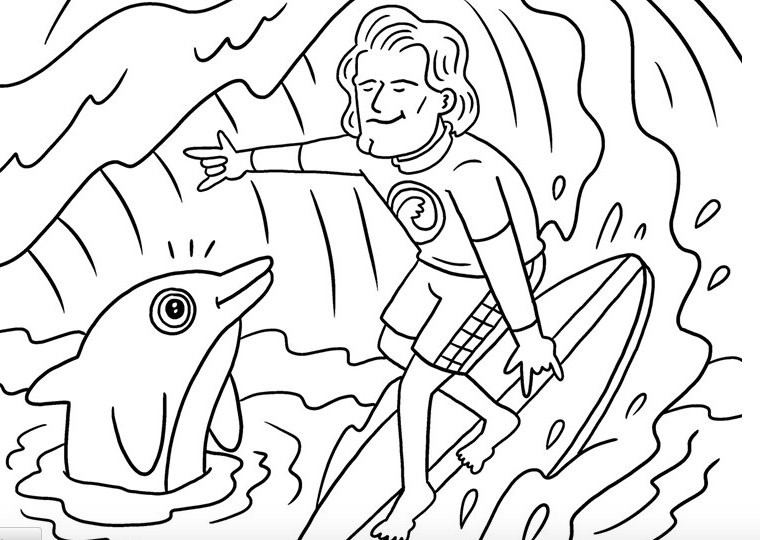 featuring rioters and more httpwwwocweeklycomartsthe us open of surfing coloring book 8268928 pictwittercomfsedxqrgth