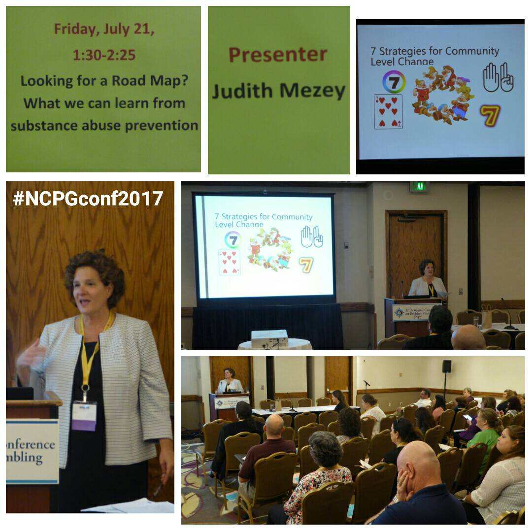 Judith Mezey showed us what we can learn from substance abuse presentation. #NCPGconf2017 #problemgambling #responsiblegambling<br>http://pic.twitter.com/vXTFb4XBhA