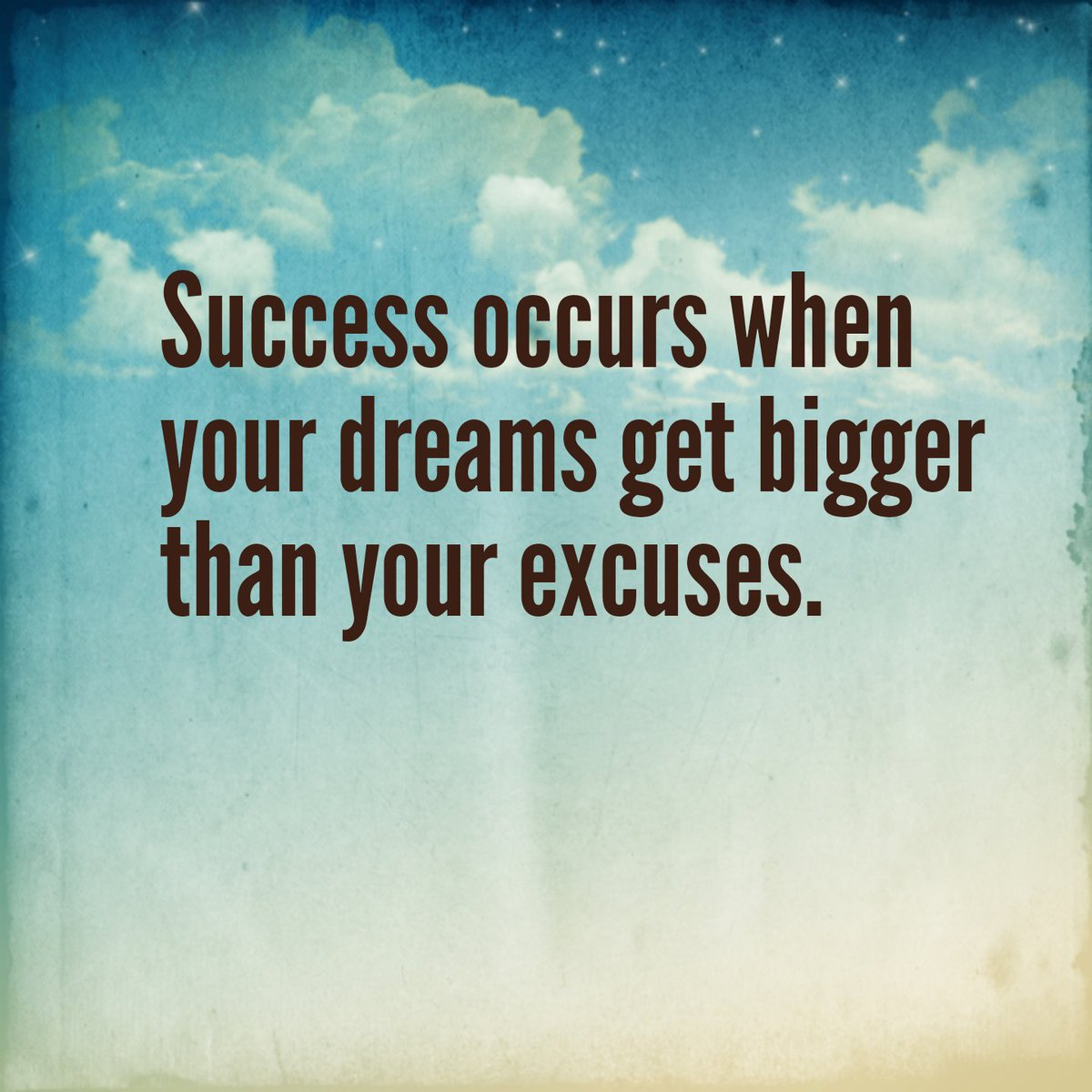 Good Life Quotes On Twitter Success Occurs When Your Dreams Get