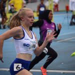 Athletics: Lauren Greig & Fraser Angus both safely throug...