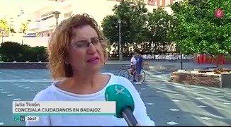 . @CsExtremadura denuncia un escrache nocturno a su concejala en Badajoz, Julia Timón. #EXN https://t.co/3i8YavwNeQ