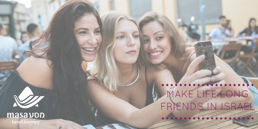 Find friends in israel