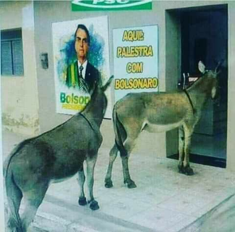 Palestra do Bolsonaro!