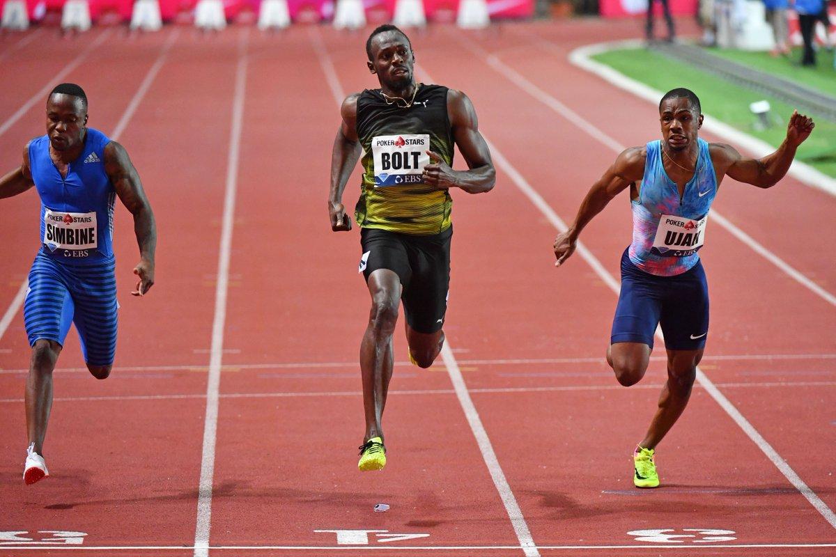 Usain Bolt ran the 100m in 9.95 seconds in his final Diamond League race  https://t.co/De18NKsuia