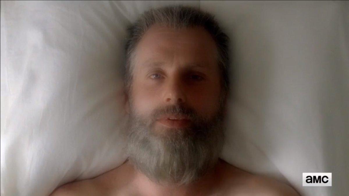 Mdr me dites pas que la théorie selon laquelle Rick était dans un rêve pendant son coma est vrai... (trailer saison 8) #TheWalkingDead pic.twitter.com/nQjw51wYyt