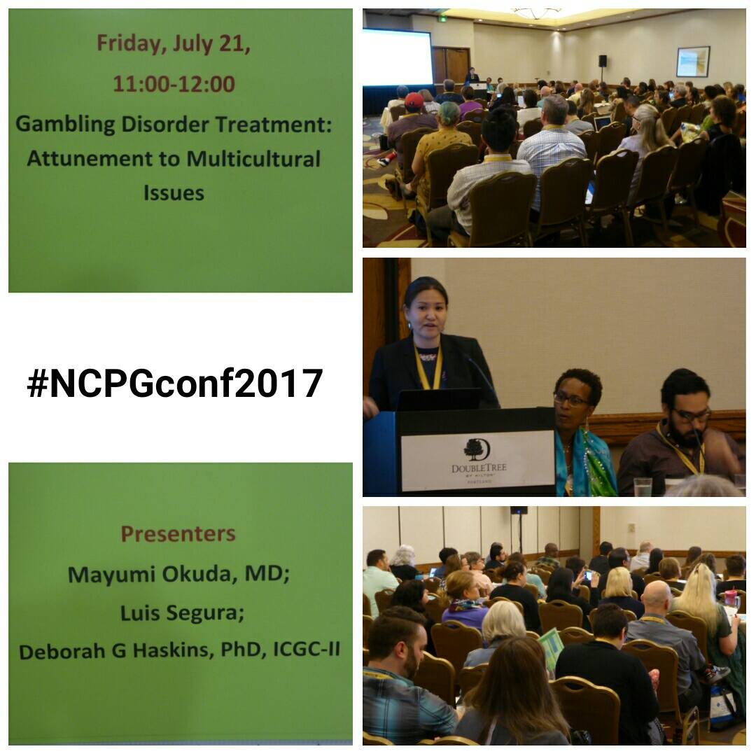 #NCPGconf2017 had an informative session about focusing on multicultural issues! #NCPG #problemgambling <br>http://pic.twitter.com/zUHCq2iqzp