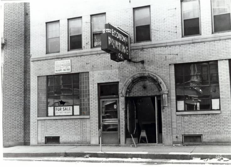 Two Detroit undercover police officers try to get into Scott's blind pig at 12th & Clairmount. They are turned away. #Rebellion67 https://t.co/cLQG7xbkZm