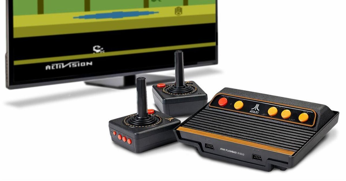 These mini Atari and Sega Genesis consoles make playing old-school games even more awesome. https://t.co/h5oNfAXnXd