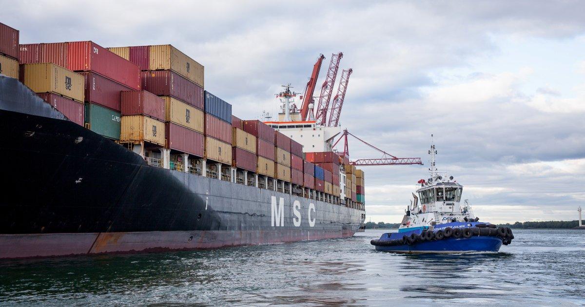 110 000$ pour évaluer l'impact du port de Contrecoeur https://t.co/PMA9bGHcbx