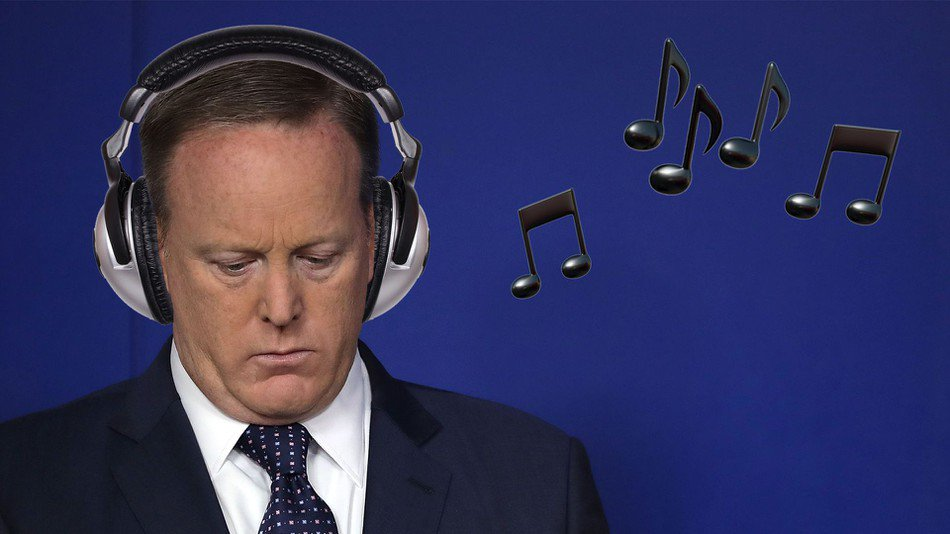 Wow, Sean Spicer's breakup playlist sure tells us a lot https://t.co/qGQEi7hni4