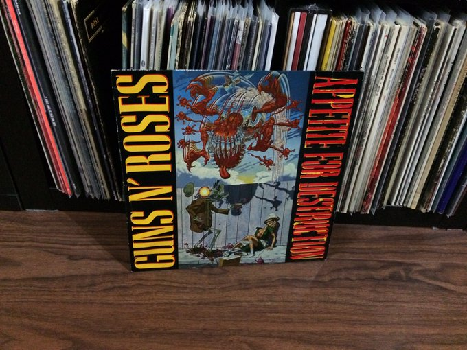 30 years, Happy Birthday  \Appetite For Destruction\