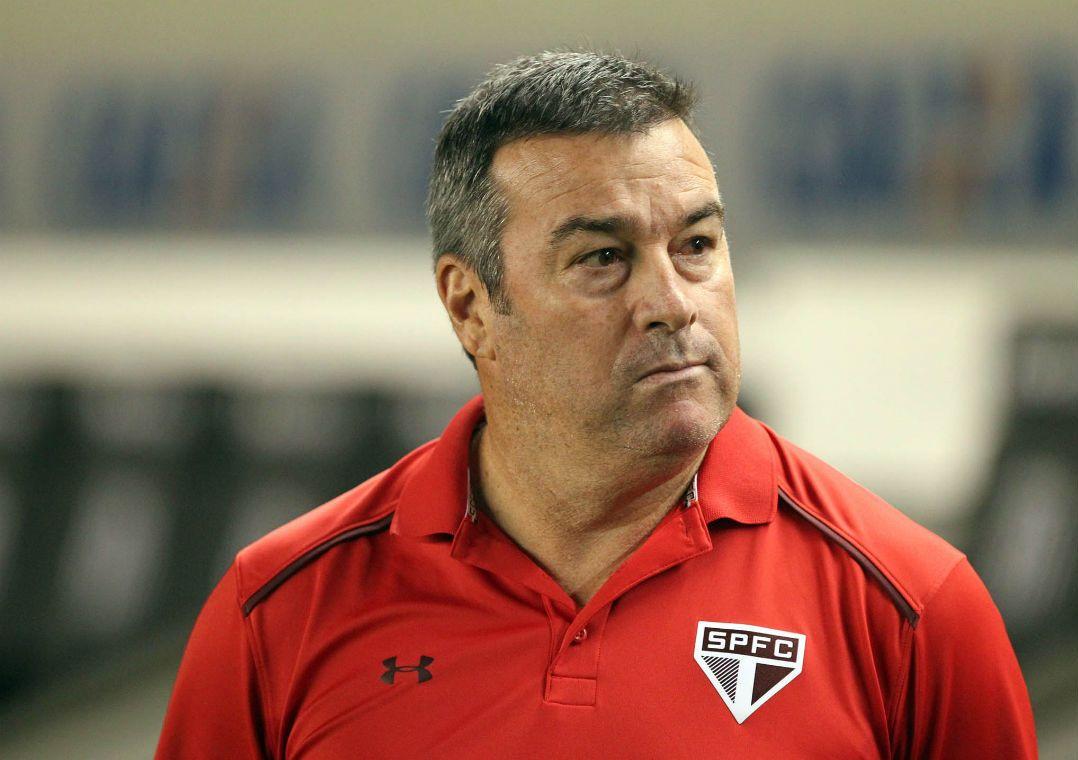 São Paulo demite Pintado. Ex-auxiliar de Rogério Ceni deixou o Tricolor nesta sexta-feira.