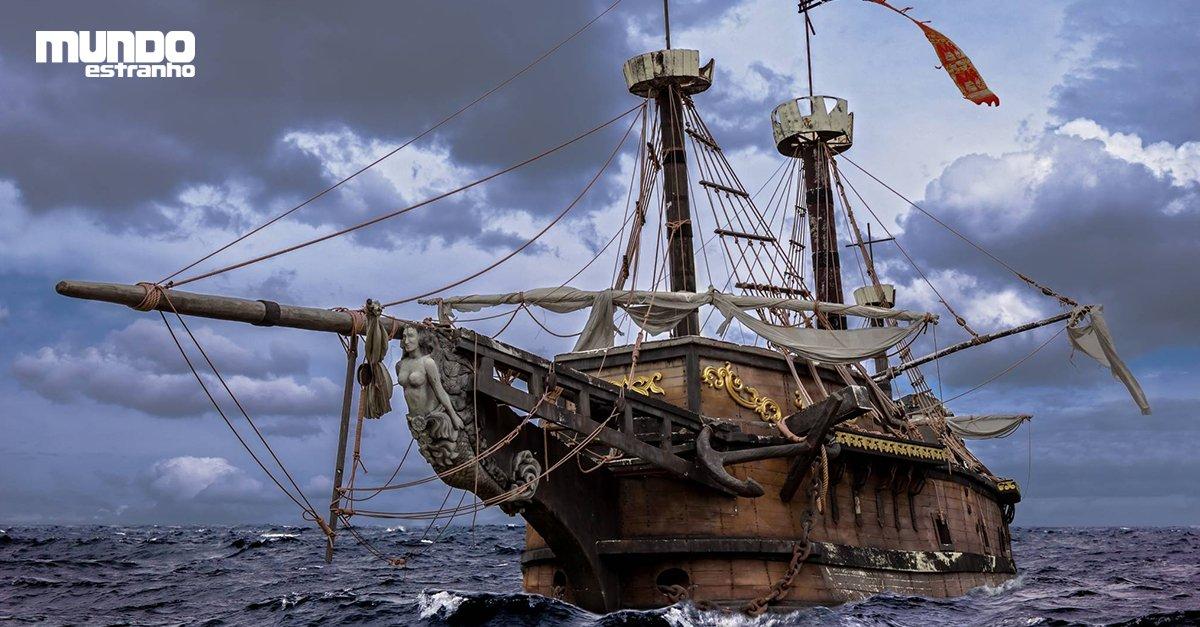 Como era um navio pirata? https://t.co/ffea8Rpv5N