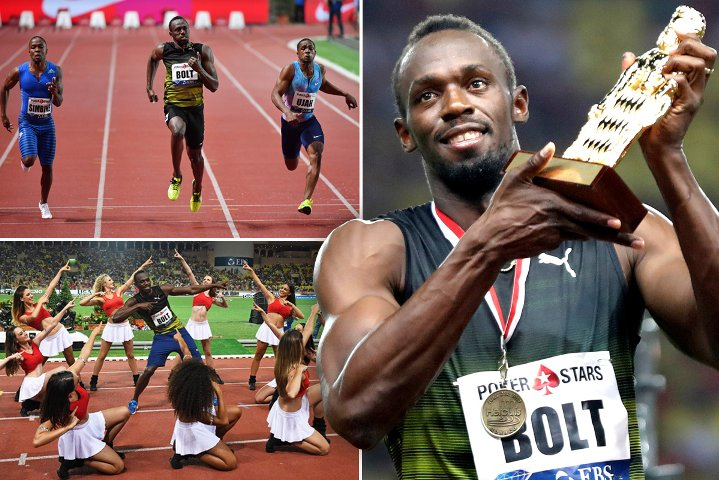 Usain Bolt runs first 100m of the year in under 10 seconds to claim victory in Monaco https://t.co/FpZ6dQ4ibZ