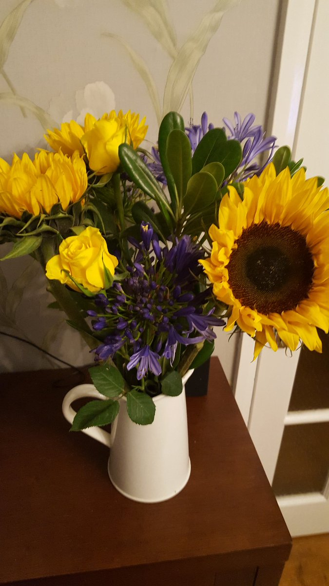Gorgeous early birthday flowers from my lovely colleagues @irwinmitchell #clinicalnegligence #Newcastle<br>http://pic.twitter.com/uI59i7wtSV