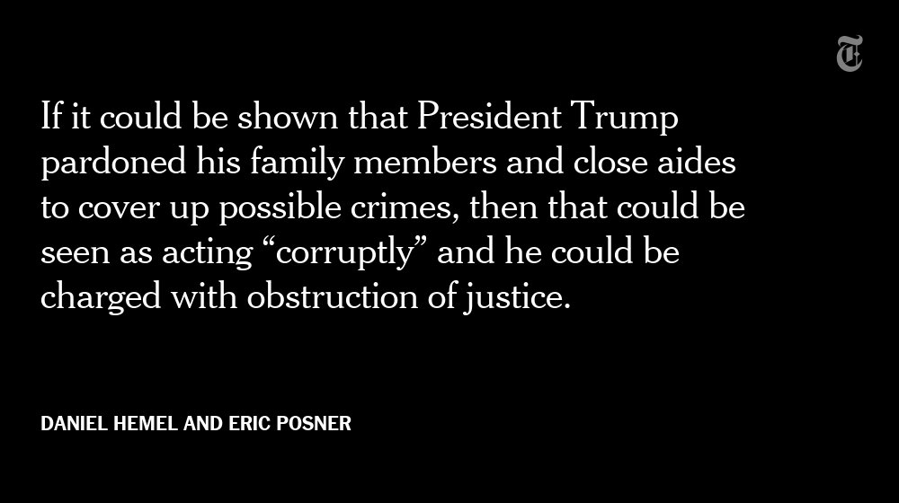 There is strong support for the claim that obstruction statutes could apply to President Trump https://t.co/qbQHqKzHnD