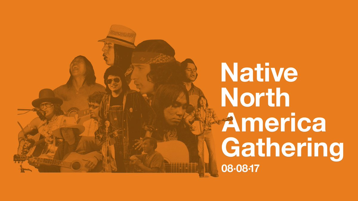 This is an unprecedented moment with Inimitable voices. Native North America Gathering in Toronto on Aug 8. Tix👇🏽 https://t.co/TlOXTeU69w
