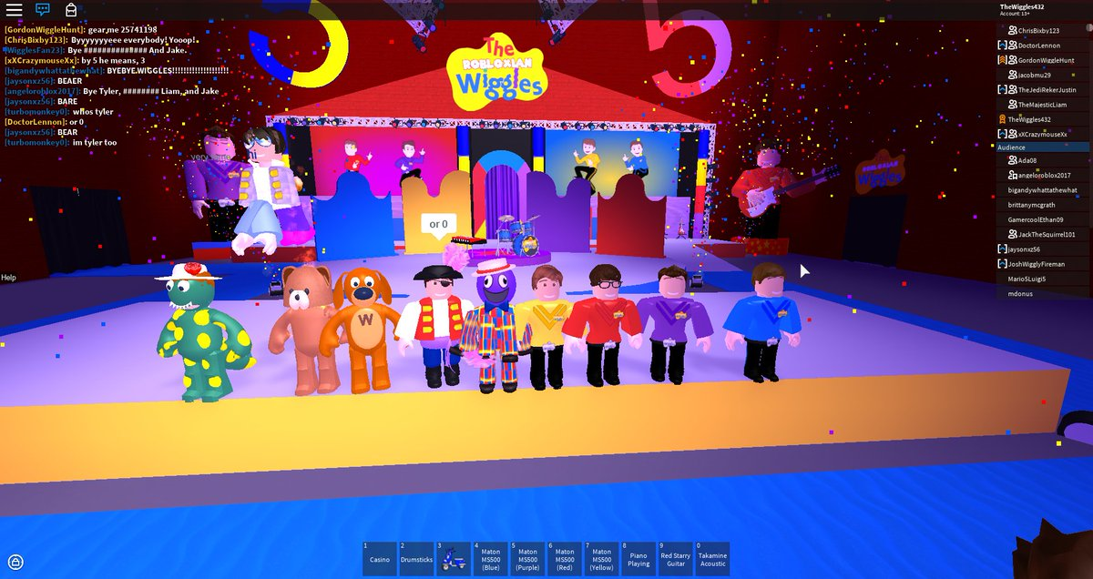 Robloxian Wiggles On Twitter Fantastic Show Today See You Next