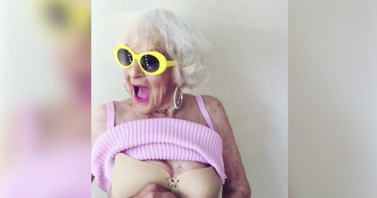 La grand-maman la plus populaire du web retrouve ses 20 ans avec ce nouveau soutien gorge https://t.co/TX4cgGoBcx